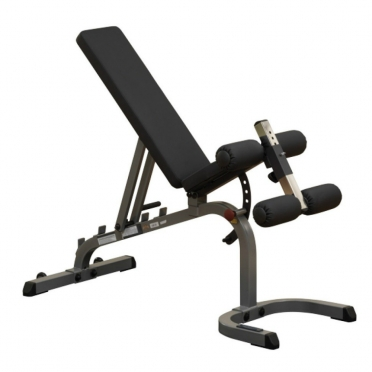 Body Solid halterbank Flat Incline Decline bench (GFID31)